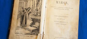 Maron – vizuális könyvismertető