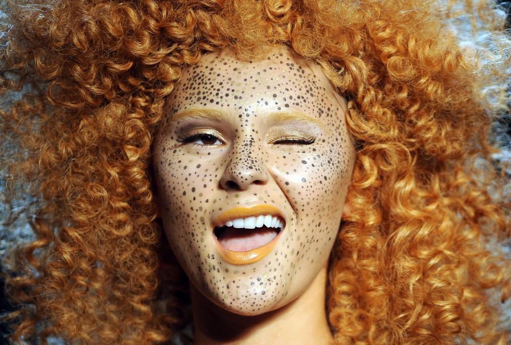 Újhullámos makeup