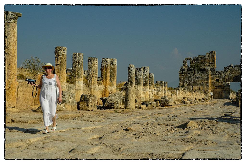 Könnyed séta Hierapoliszban