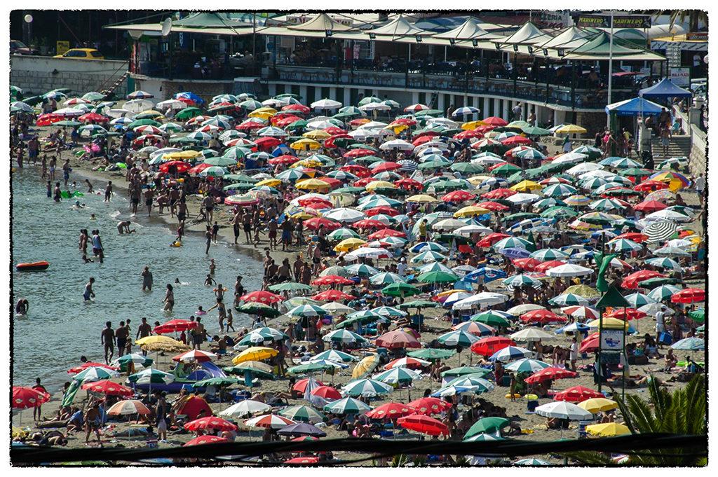 Az ulcinji városi strand