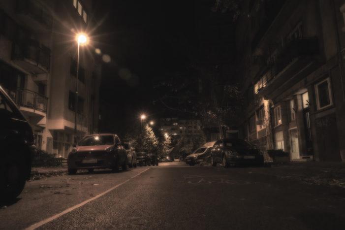 Halloween hangulat a Medve utcában