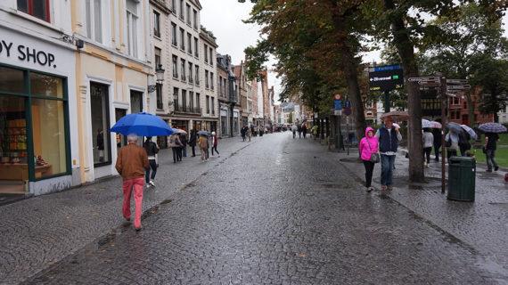 Ha esik, akkor ez Belgium
