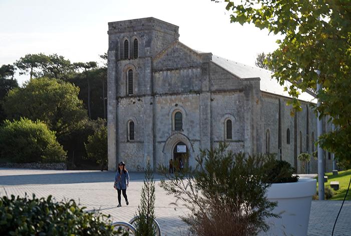 A Szent Veronika templom.