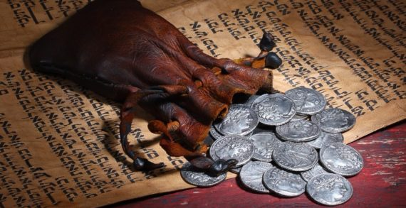 Az elkeseredett Júdás monológja, mielőtt elindul Kaifáshoz