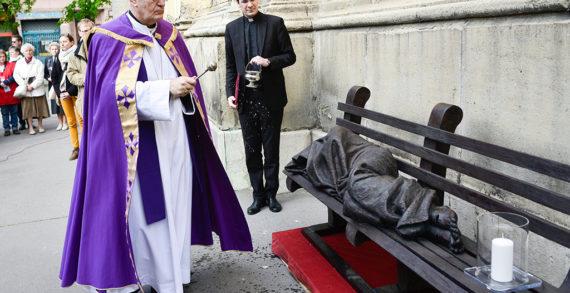 Jézus, a hajléktalan