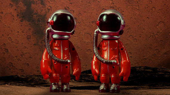 A vörös bolygó titka – a hivatalos plakát