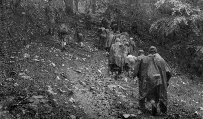 Partizánok a Fruska Gorán