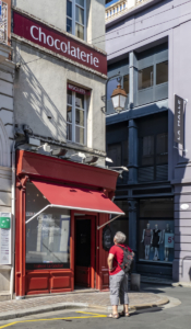 Csokibolt Rouenban